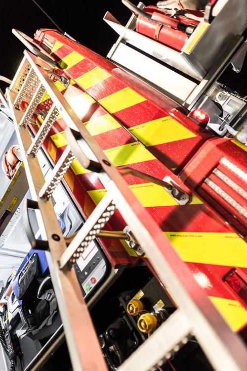 HLF10 Leiter zum Dach