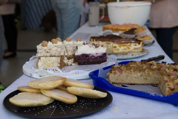 Kuchen-Buffet