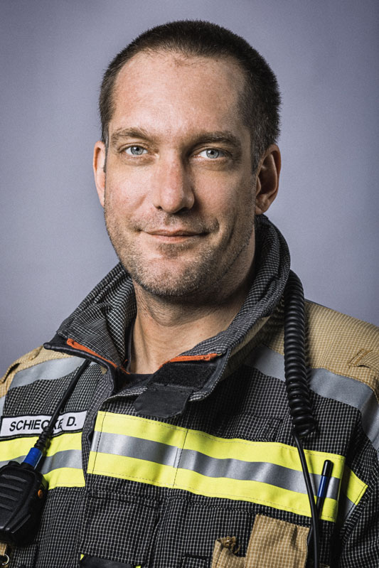 Kommandant Dirk Schiecke