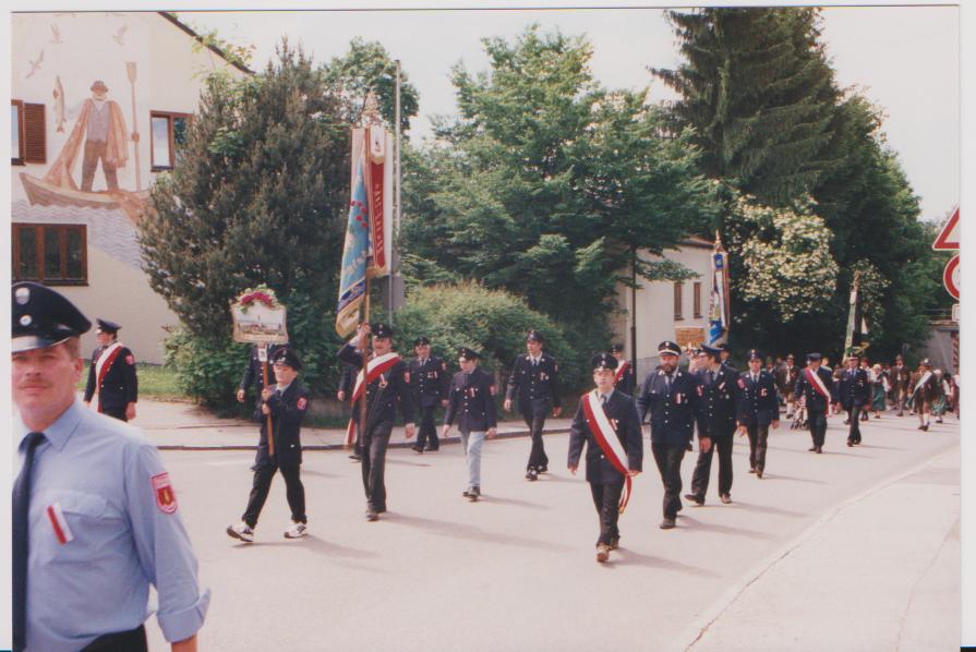 Festzug zur 125-Jahr-Feier