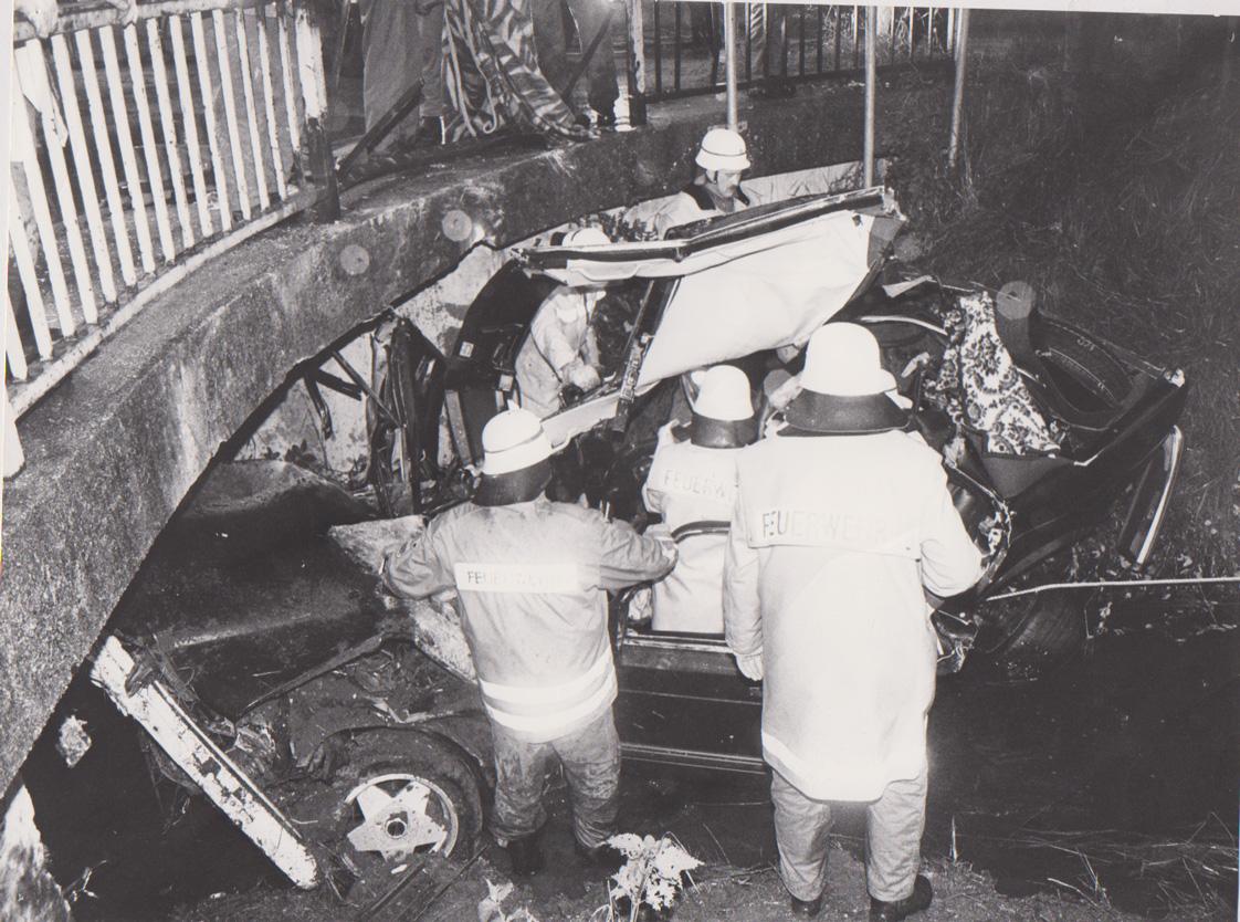 Unfall auf B2