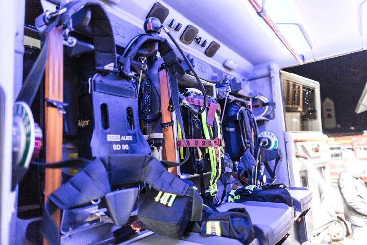 HLF10 Mannschaftsraum