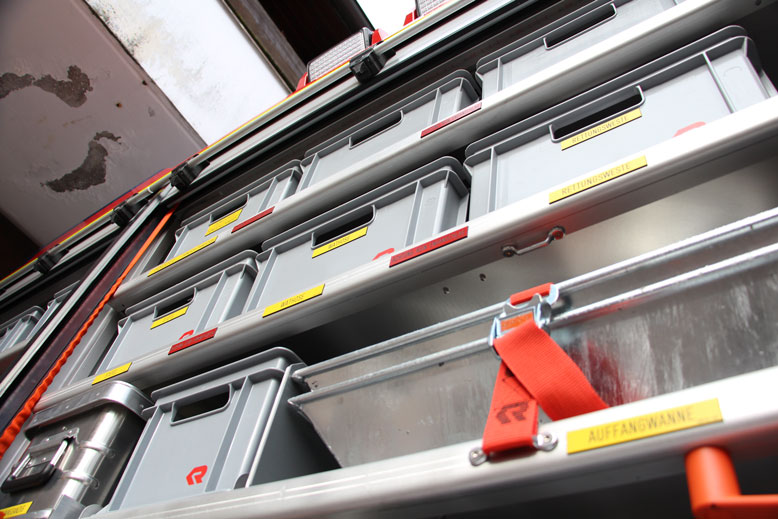 HLF10 Geräteraum