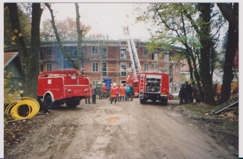 Brand im Neubau des Altersheims Garatshausen