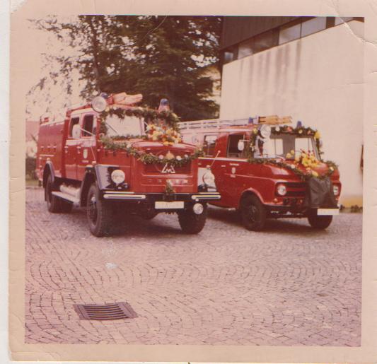 Fahrzeugweihe LF und TLF